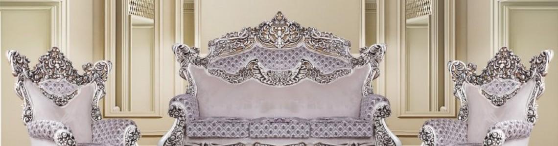 شیک ترین و جذاب ترین مدل های مبلمان سلطنتی جدید