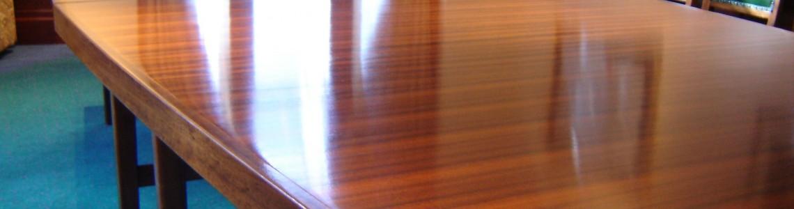 روش های تمیز کردن و پاکسازی بوفه ها و سایر وسایل چوبی