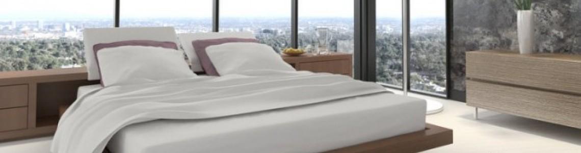راهکارهای تزئین دیوار بالای تخت خواب