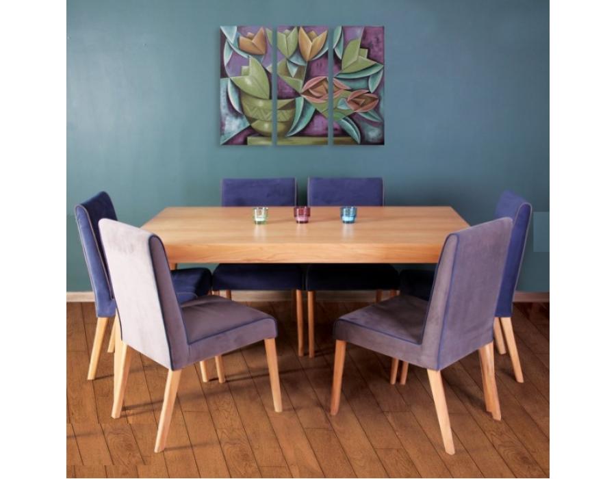 ست ناهارخوری مدل روژانو آپارتمانی