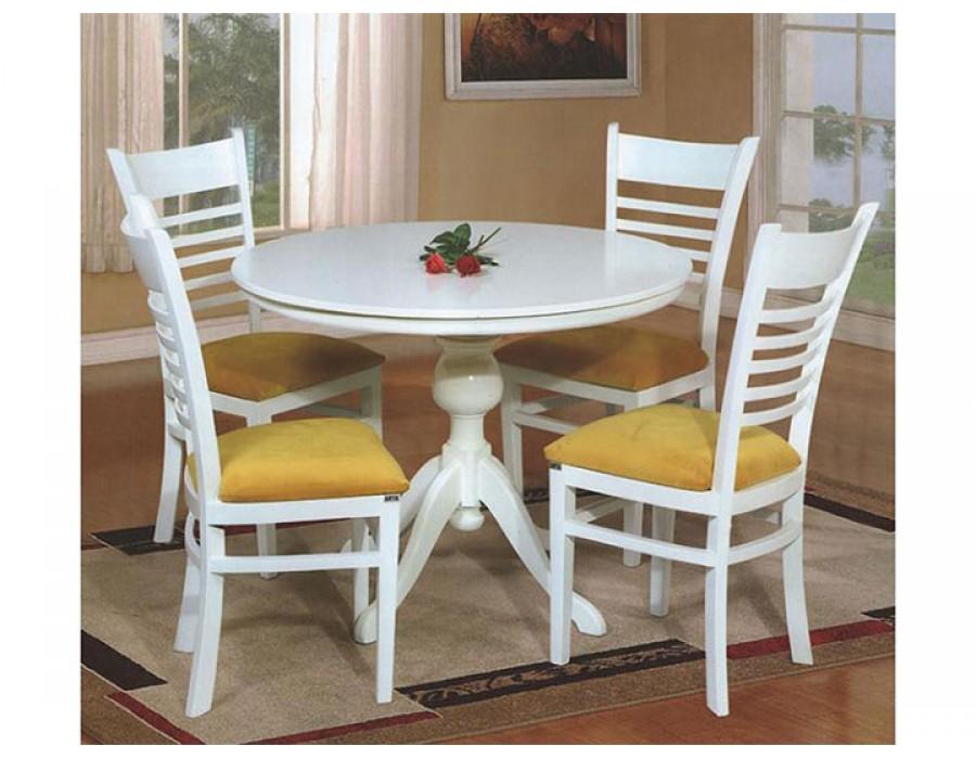 میز ناهار خوری گرد عروس