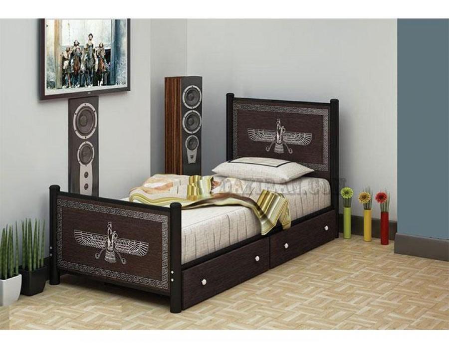 تخت خواب یک نفره فروهر
