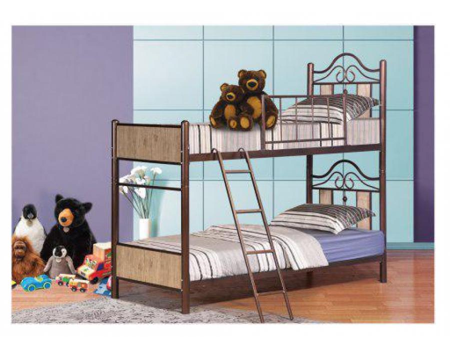 تخت خواب فلزی مدل سهند دو طبقه