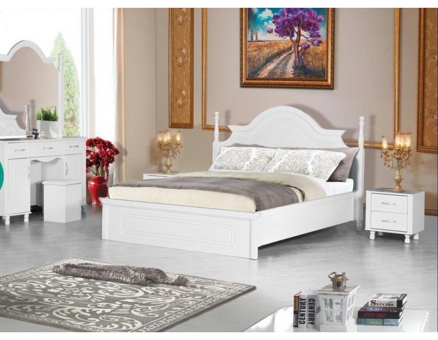 سرویس خواب عروس سفید مارال  