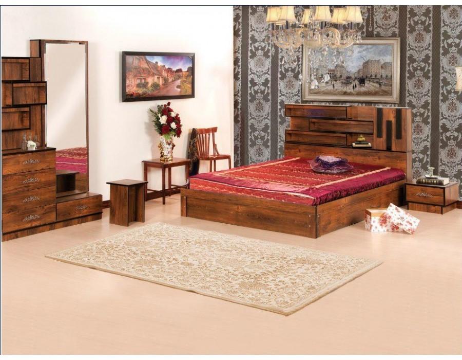 سرویس خواب چوبی اطلس
