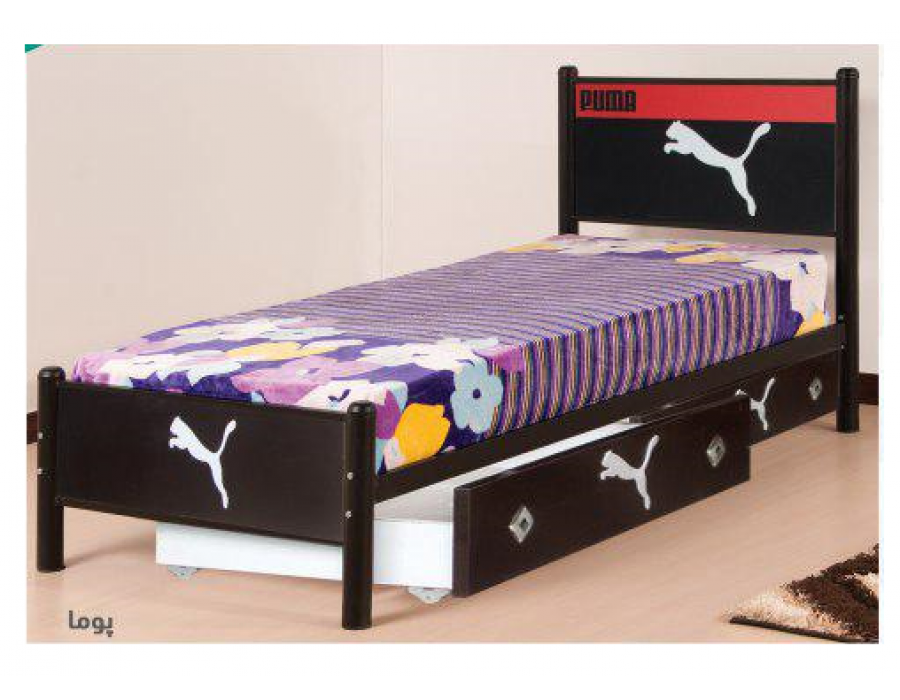 تخت خواب فلزی مدل پوما