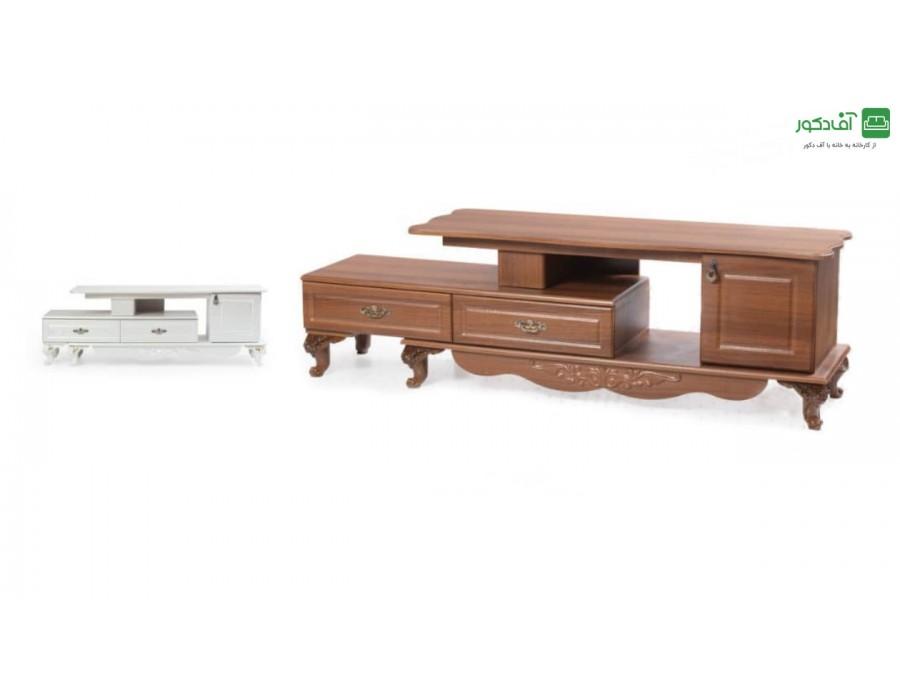 میز تلویزیون چوبی جدید رویا