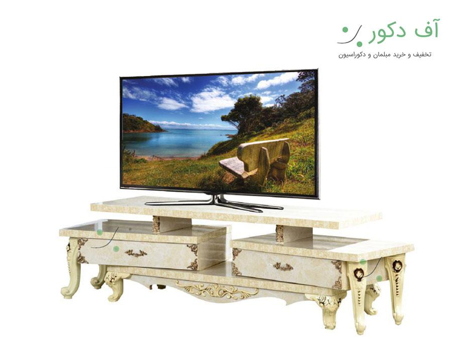 میز تلویزیون سرامیکی سلطنتی تاج |