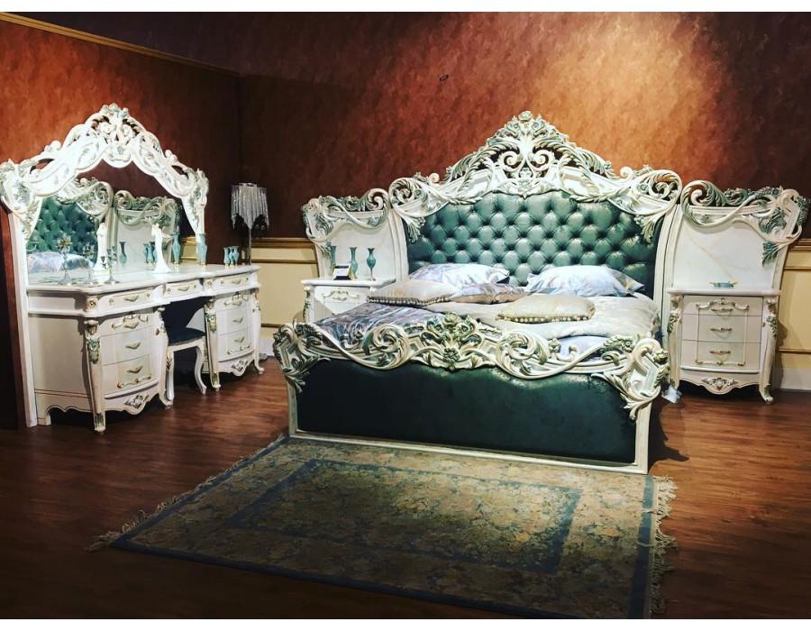 تخت خواب سلطنتی ملکه QUEEN