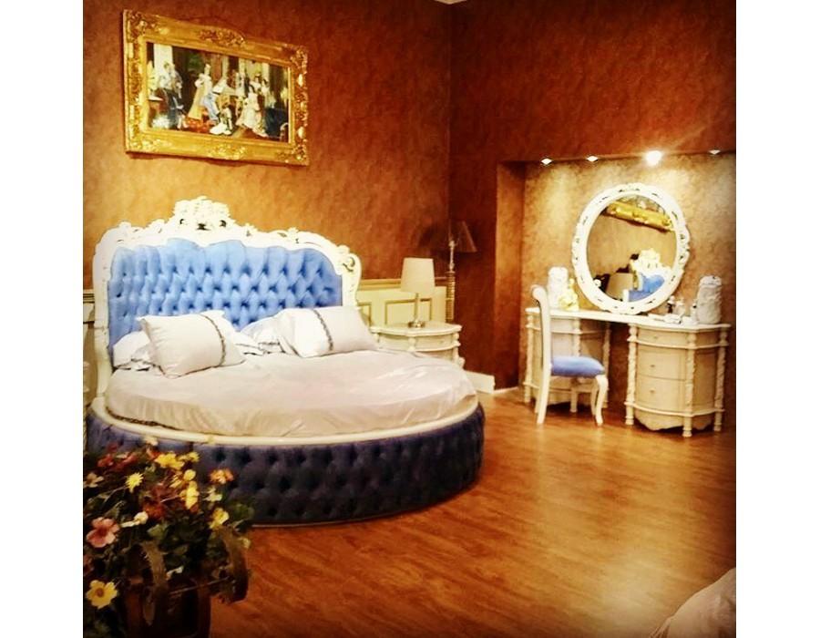 تخت خواب سلطنتی گرد موناکو MONACO