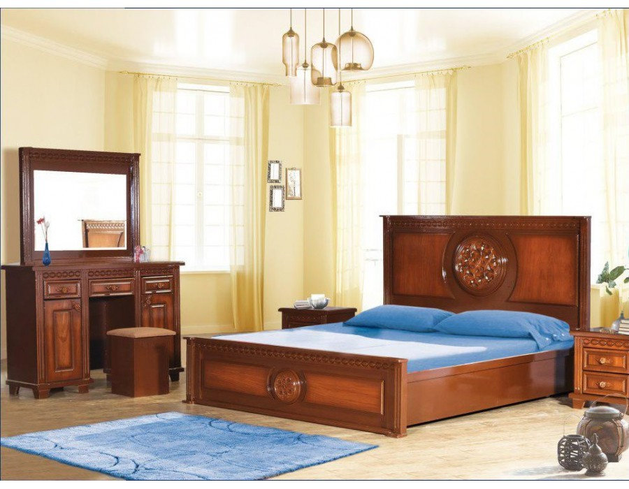 تخت خواب چوبی فرشته