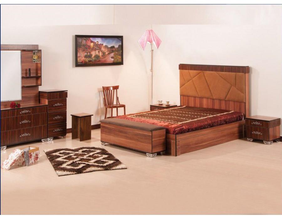 تخت خواب چوبی پارمیس