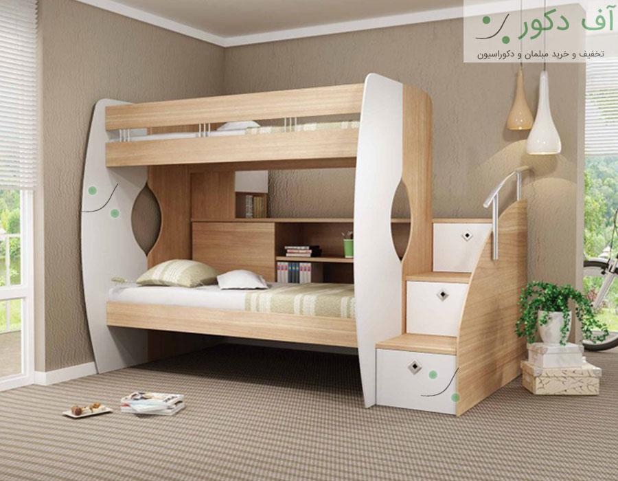 تخت خواب دو طبقه البرز