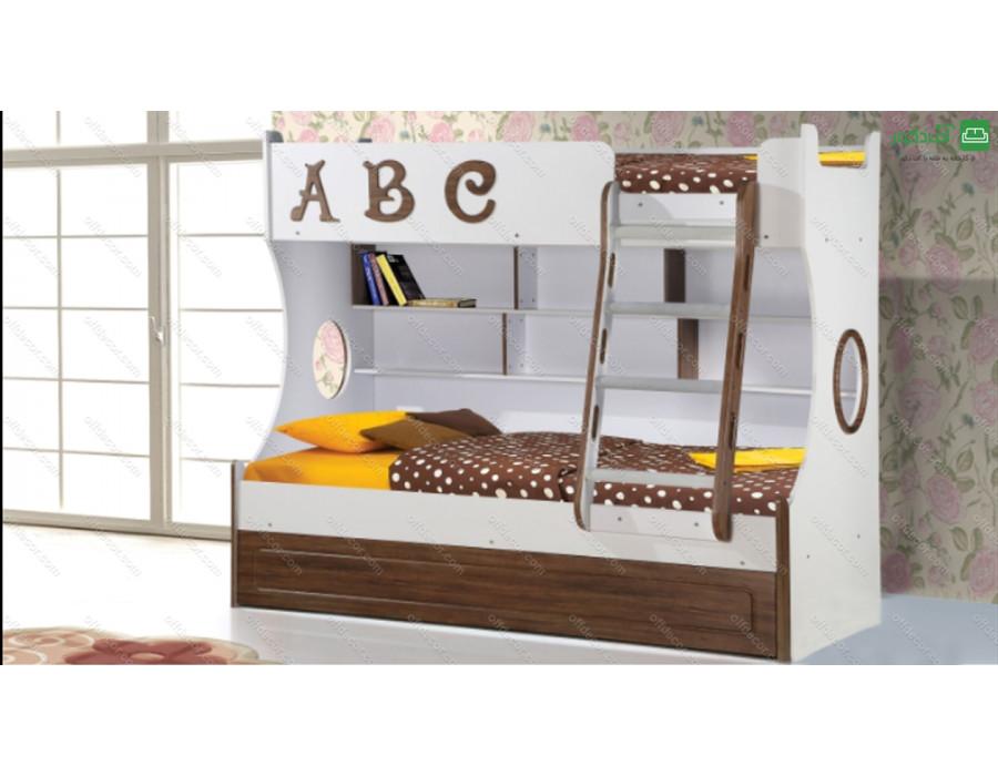تخت خواب دو طبقه آلفابت