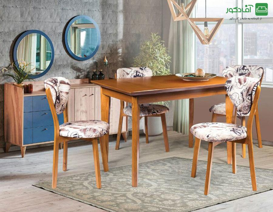 میز ناهار خوری نارسیس