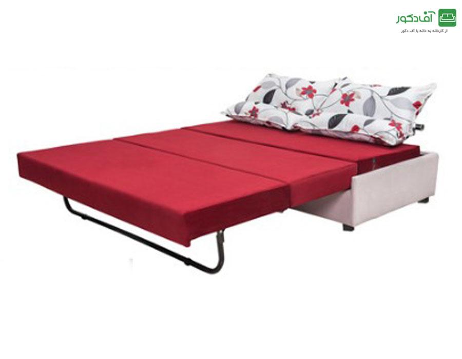 مبل تختخواب شو دو نفره مدل گلاره