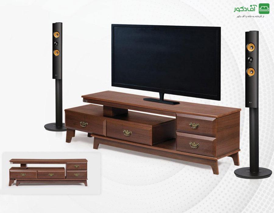 میز تلویزیون مدرن بارسا
