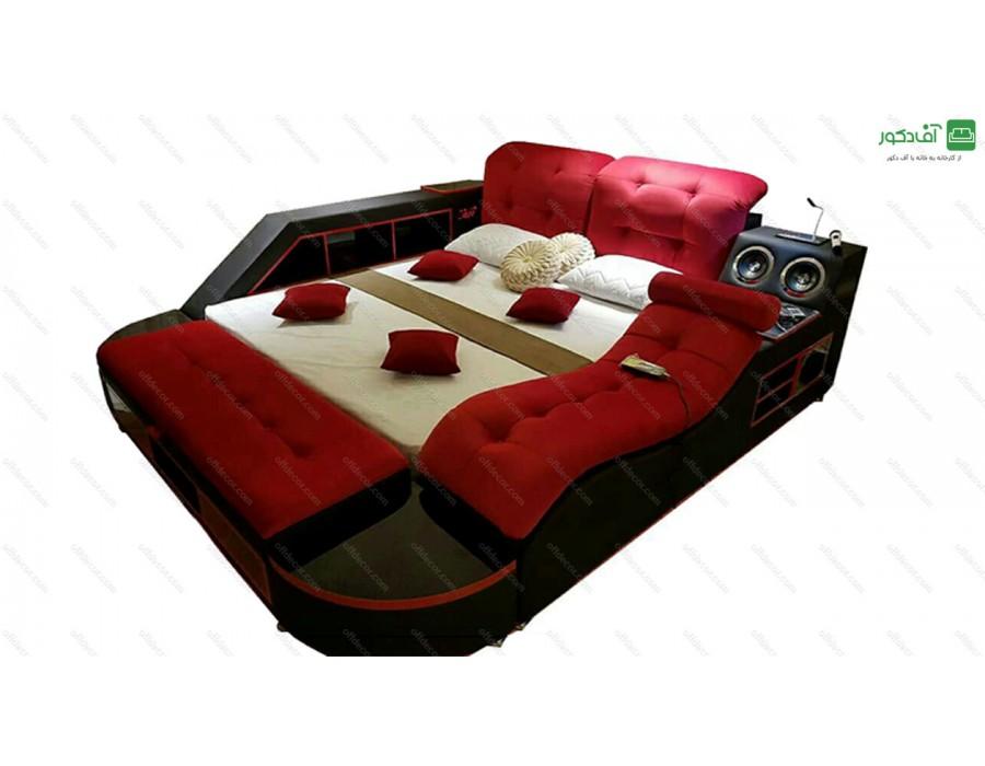 تخت خواب دو نفره هوشمند اسکار