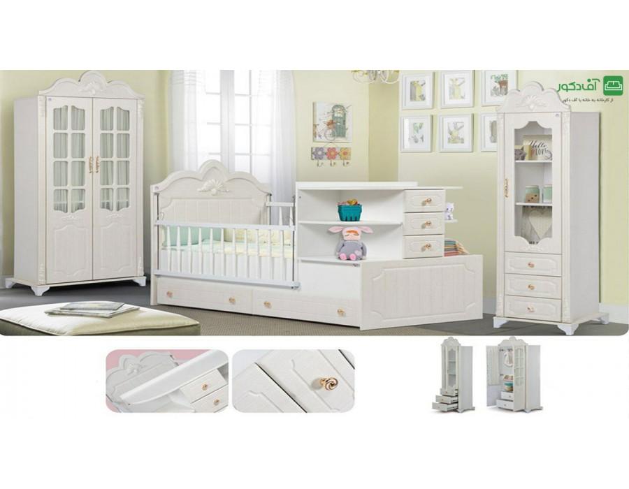 تخت خواب نوزاد نوجوان بالسا