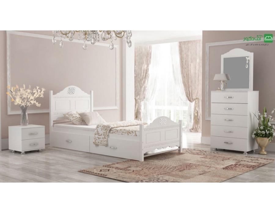 تخت خواب یک نفره آلیس
