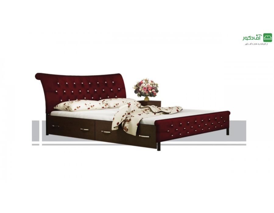 تخت خواب دو نفره ماتریسا