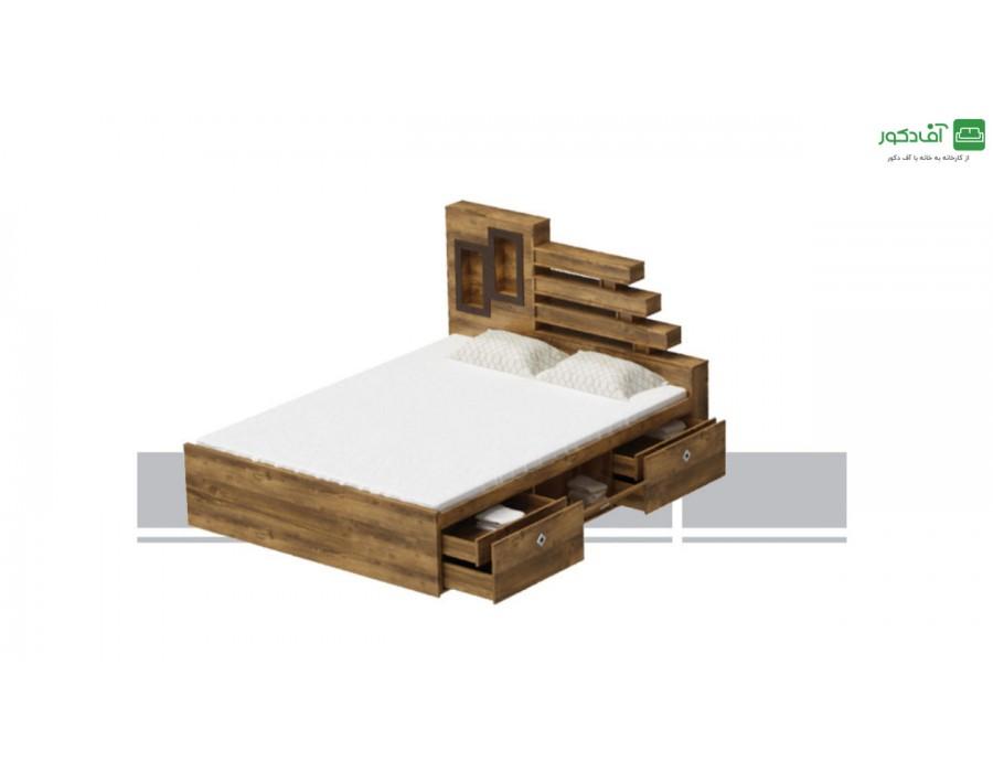 تخت خواب دو نفره پولین