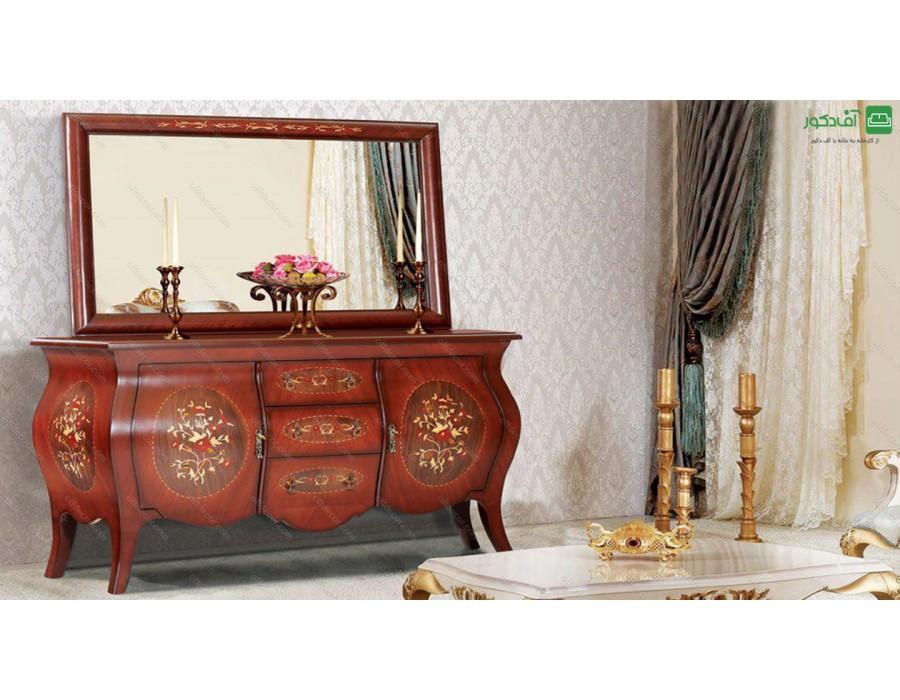 آینه و میز کنسول معرق نایس