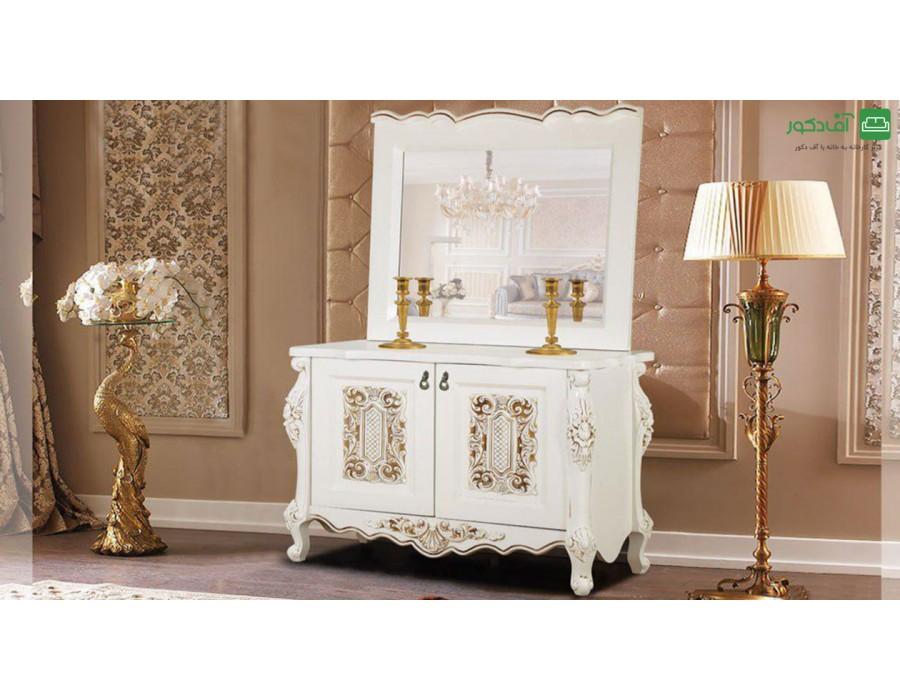 آینه و میز کنسول آنتیک