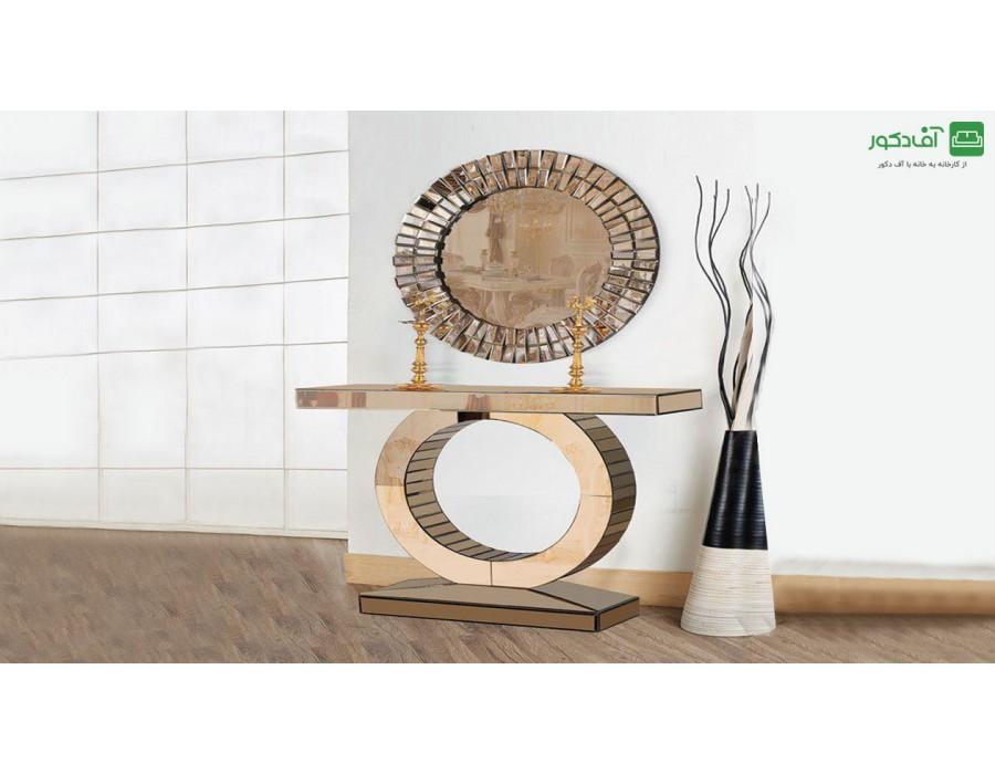 آینه و میز کنسول ربکا
