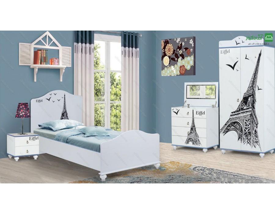سرویس خواب یک نفره پاریس