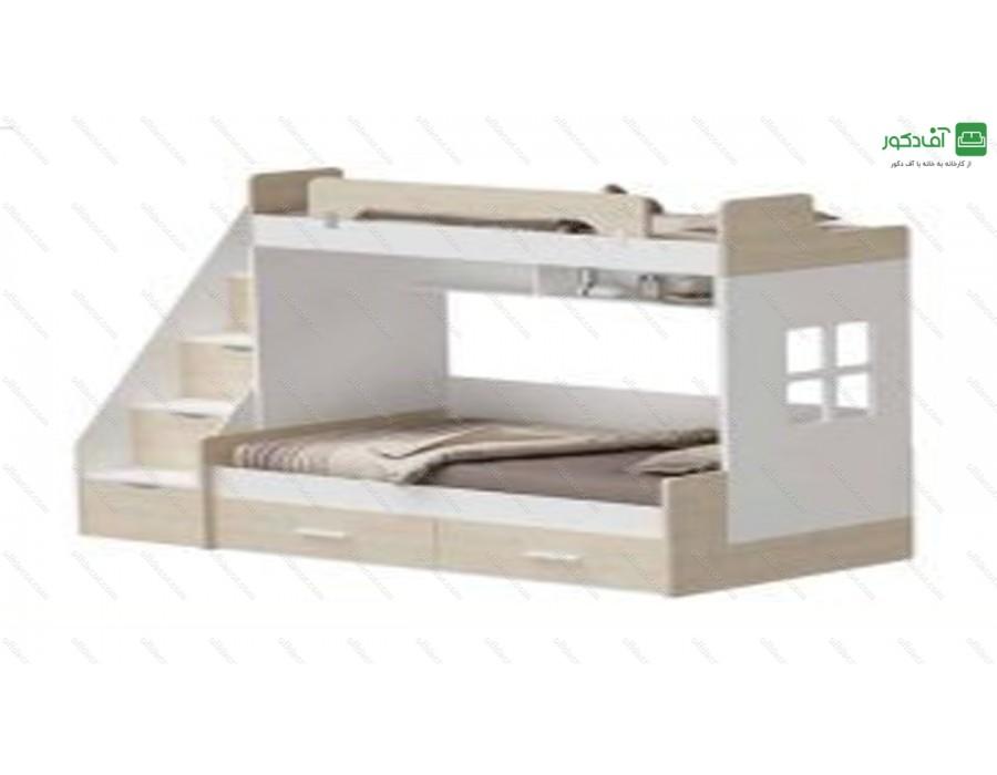 تخت خواب دو طبقه ناتوزی