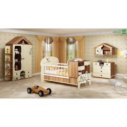 تخت خواب نوزاد نوجوان اسنوپی