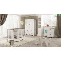 تخت خواب نوزاد رامونا
