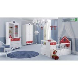 تخت خواب نوزاد نوجوان فلورا