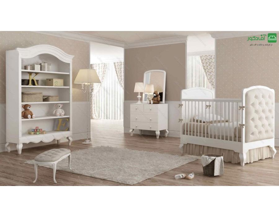 تخت خواب نوزاد کورالین