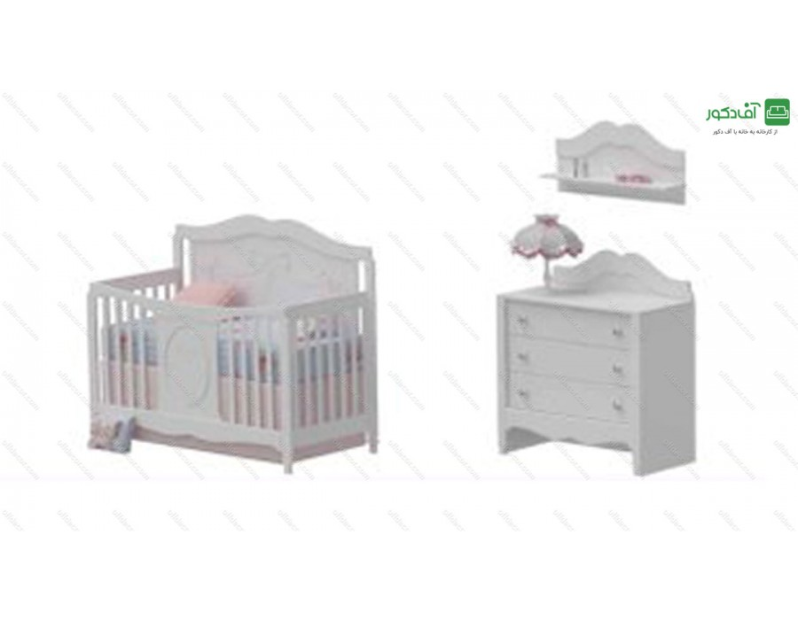 تخت خواب نوزاد لوکاس