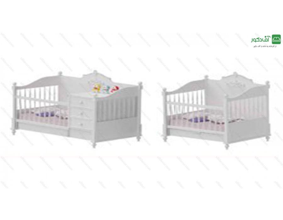 تخت خواب نوزاد نوجوان وگاس