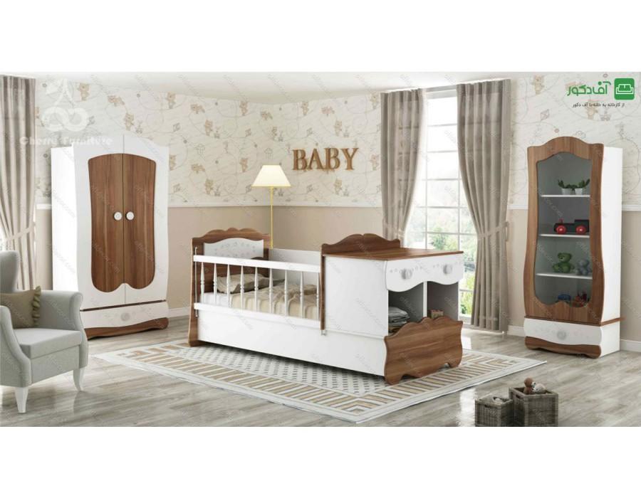 تخت خواب نوزاد نوجوان نارسیس