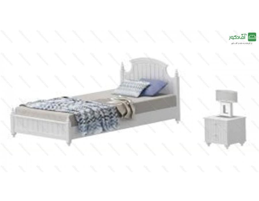 تخت خواب یک نفره آرمیتا