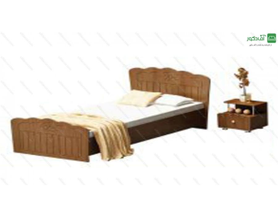 تخت خواب یک نفره آرمک