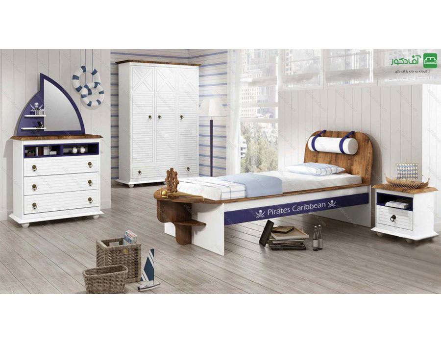 تخت خواب یک نفره آکاژو