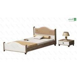 تخت خواب یک نفره آلبرتو