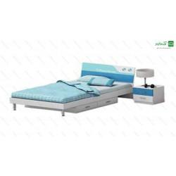 تخت خواب یک نفره پارسان