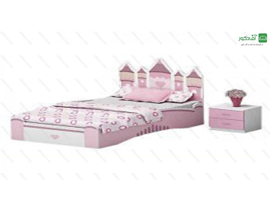 تخت خواب یک نفره دیزنی