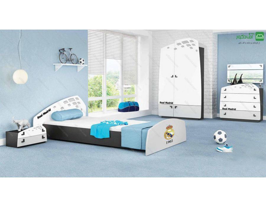 تخت خواب یک نفره رئال مادرید
