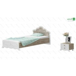 تخت خواب یک نفره کادنزا