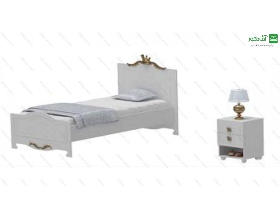 تخت خواب یک نفره کویین