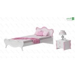 تخت خواب یک نفره لئون