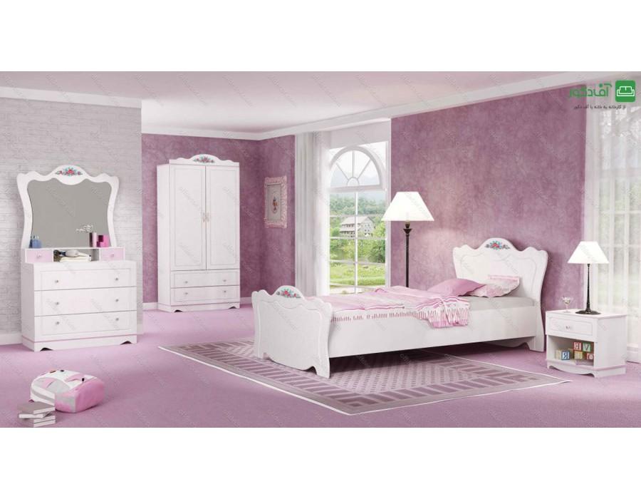 تخت خواب یک نفره نوژا