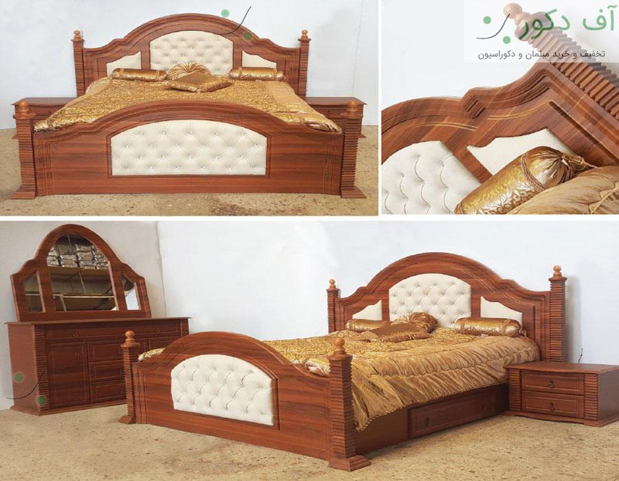 تخت خواب دو نفره کیانا